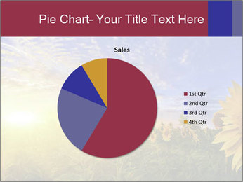 Sunflower field PowerPoint Templates - Slide 36