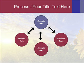 Sunflower field PowerPoint Templates - Slide 91