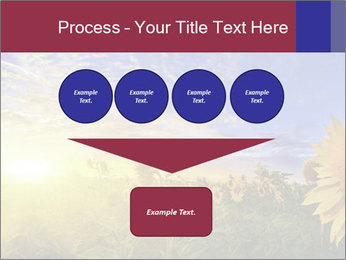 Sunflower field PowerPoint Templates - Slide 93