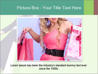 Fashion girl PowerPoint Templates - Slide 15