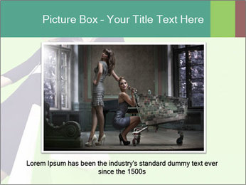 Fashion girl PowerPoint Template - Slide 16