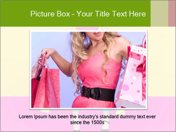 Crazy Shopping PowerPoint Template - Slide 15