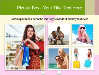 Crazy Shopping PowerPoint Template - Slide 19