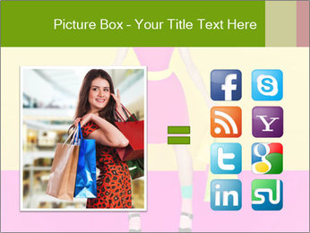 Crazy Shopping PowerPoint Template - Slide 21