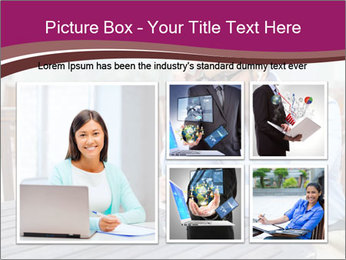 Closeup portrait, young man in blue shirt PowerPoint Templates - Slide 19