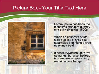 Victorian house in yellow PowerPoint Template - Slide 13