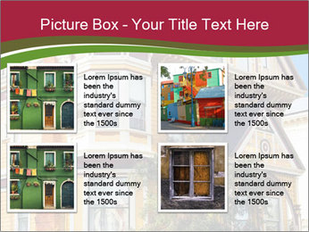 Victorian house in yellow PowerPoint Template - Slide 14