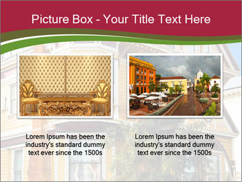Victorian house in yellow PowerPoint Template - Slide 18