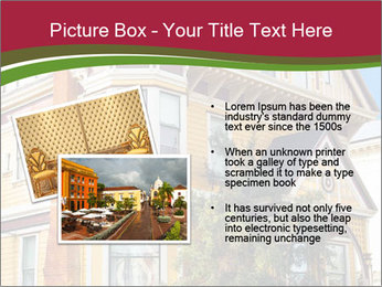Victorian house in yellow PowerPoint Template - Slide 20