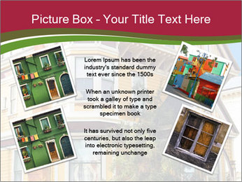 Victorian house in yellow PowerPoint Template - Slide 24