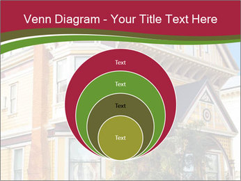 Victorian house in yellow PowerPoint Template - Slide 34