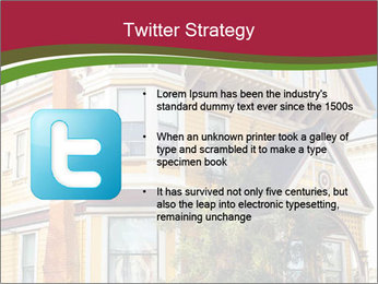 Victorian house in yellow PowerPoint Template - Slide 9