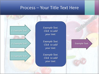 Delicious smoothie on table PowerPoint Template - Slide 85