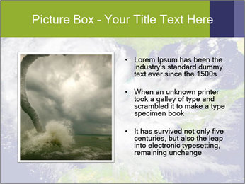 Huge hurricane PowerPoint Template - Slide 13