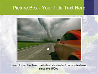 Huge hurricane PowerPoint Template - Slide 15