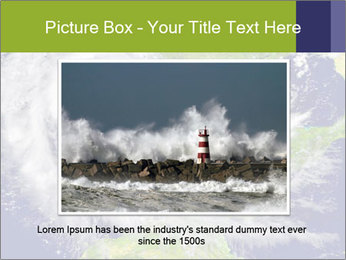 Huge hurricane PowerPoint Template - Slide 16