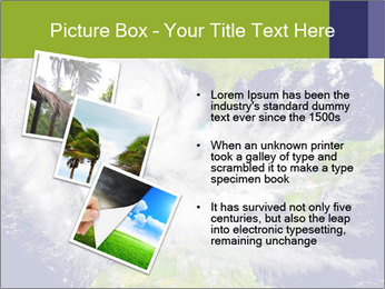 Huge hurricane PowerPoint Template - Slide 17