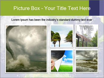 Huge hurricane PowerPoint Template - Slide 19