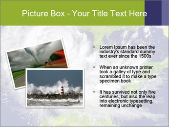 Huge hurricane PowerPoint Template - Slide 20