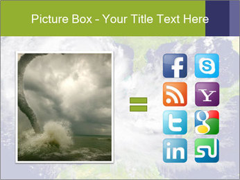 Huge hurricane PowerPoint Template - Slide 21