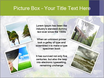 Huge hurricane PowerPoint Template - Slide 24
