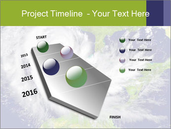 Huge hurricane PowerPoint Template - Slide 26