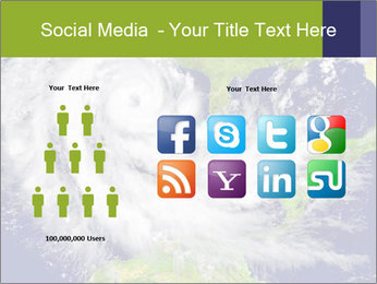 Huge hurricane PowerPoint Template - Slide 5
