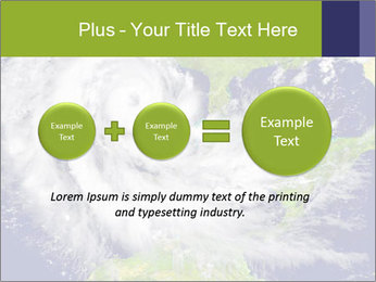 Huge hurricane PowerPoint Template - Slide 75