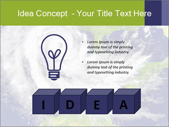 Huge hurricane PowerPoint Template - Slide 80