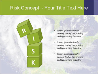 Huge hurricane PowerPoint Template - Slide 81