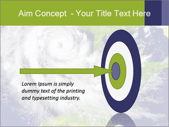 Huge hurricane PowerPoint Template - Slide 83