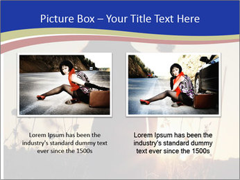 A pretty woman enjoying summer PowerPoint Template - Slide 18