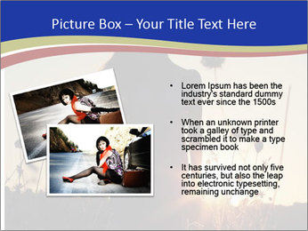 A pretty woman enjoying summer PowerPoint Templates - Slide 20