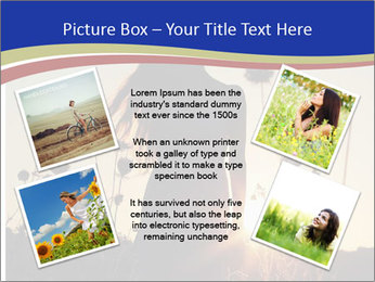 A pretty woman enjoying summer PowerPoint Template - Slide 24