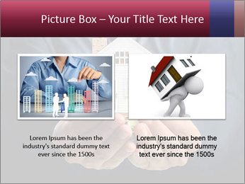 Holding house representing home PowerPoint Template - Slide 18