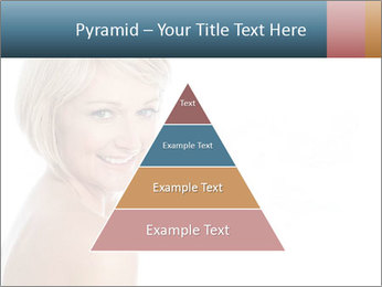 Smiling pretty woman with clean skin PowerPoint Templates - Slide 30
