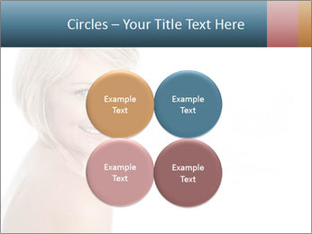 Smiling pretty woman with clean skin PowerPoint Templates - Slide 38