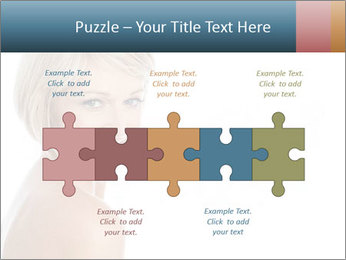 Smiling pretty woman with clean skin PowerPoint Templates - Slide 41