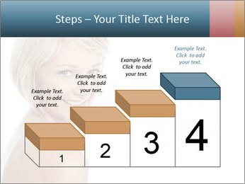 Smiling pretty woman with clean skin PowerPoint Templates - Slide 64