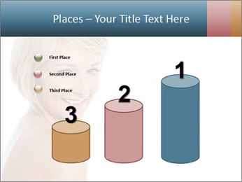 Smiling pretty woman with clean skin PowerPoint Templates - Slide 65