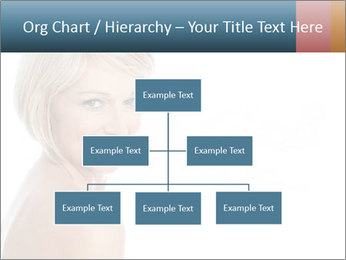 Smiling pretty woman with clean skin PowerPoint Templates - Slide 66