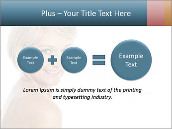 Smiling pretty woman with clean skin PowerPoint Templates - Slide 75