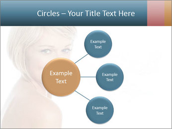 Smiling pretty woman with clean skin PowerPoint Templates - Slide 79