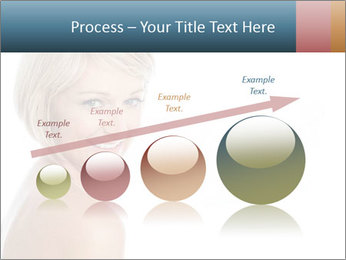Smiling pretty woman with clean skin PowerPoint Templates - Slide 87