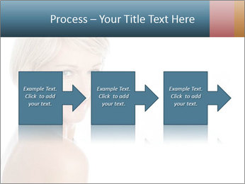 Smiling pretty woman with clean skin PowerPoint Templates - Slide 88
