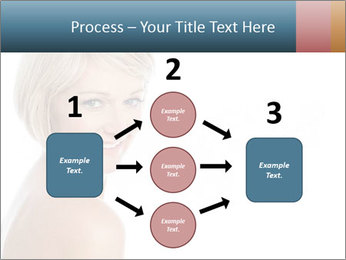 Smiling pretty woman with clean skin PowerPoint Templates - Slide 92