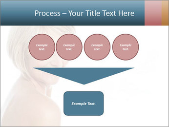 Smiling pretty woman with clean skin PowerPoint Templates - Slide 93