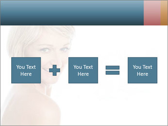 Smiling pretty woman with clean skin PowerPoint Templates - Slide 95