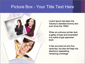 Happy girl PowerPoint Template - Slide 23