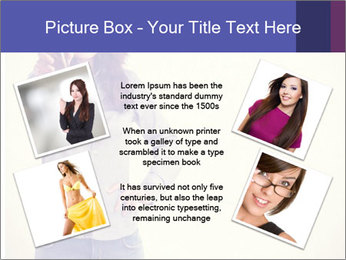 Happy girl PowerPoint Templates - Slide 24